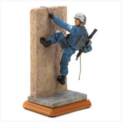 Elite Police Climber Figurine