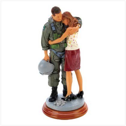 Far From Home Air Force Statue