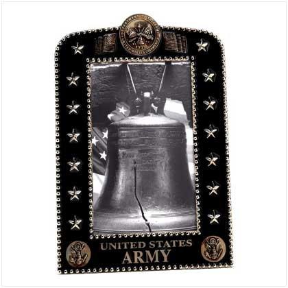 Army Crest Portrait Frame