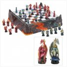 Dragon's Realm Chess Set