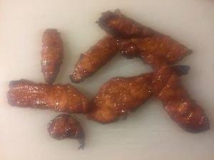 Handcut Thick smoked Honey turkey jerky 8 ounce fathers day