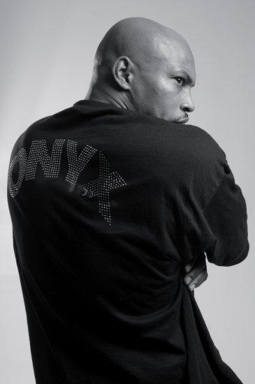 Onyx Madface Premium T-Shirt - Navy Blue