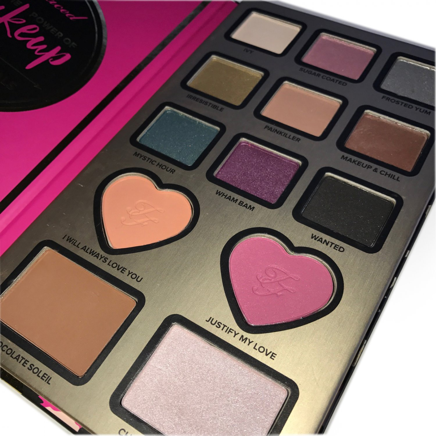 TOO FACED The Power Of Makeup by NIKKIE TUTORIALS + FAST FREE SHIPPING (USA)