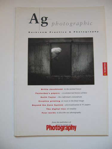 AG+ Photographic: v. 10: Darkroom Practice & Photography, 1998, Dickie, Christopher, ISBN 0900414650