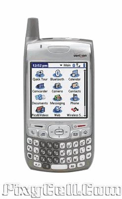 New Verizon Palm Treo 700p Cell Phone