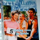 TAKING LOVE IN STRIDE by Donna Clayton
