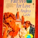 A FAIR WIND FOR LOVE  by Andrea Gray