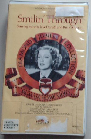 SMILIN' THROUGH - VHS - Jeanette MacDonald and Brian Aherne