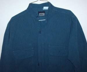 Mens L/S shirt, size M, Hand-dyed collection by U.C.W.