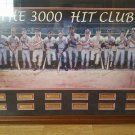 RON LEWIS THREE THOUSAND HIT CLUB LITHOGRAPH  MEASURING 44.3X 31.4