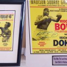 RIDDECK BOWE &MICHAEL DOKES SIGNED FIGHT POSTER