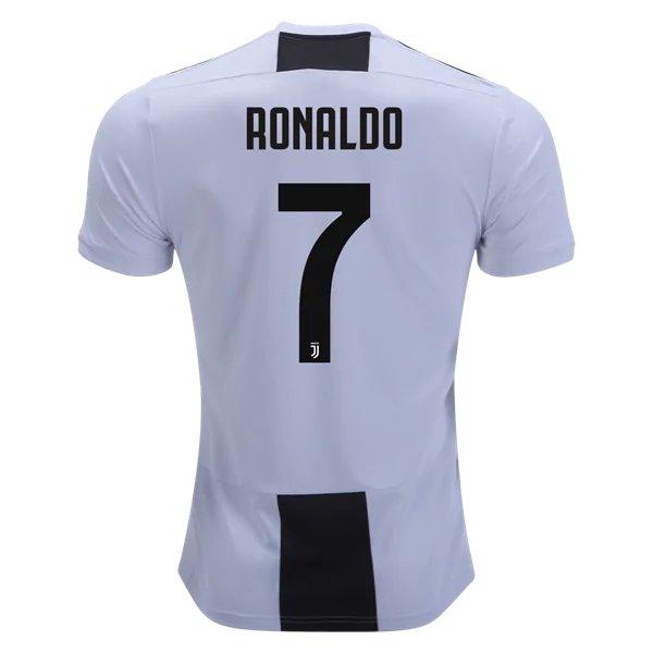 Men s Juventus C.R  7 Home Soccer Jersey 2018 19 7b54d13b370c2