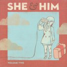 She & Him Volume Two CD, Album Merge Rock & Pop