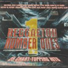 Reggaeton Number Ones 2CD Album Compilation 25 Chart-Topping Hits & 1 DVD Videos
