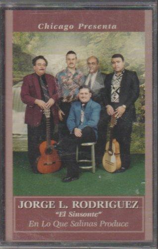 Chicago Presenta - Jorge L. Rodriguez - El Sinsonte (Cassette, album)