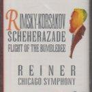 Rimsky Korsakov Scheherazade Flight Of The Bumblebee Reiner Chicago Symphony (cassette, album)
