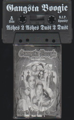 DJ Gangsta Boogie Mixtape Ashes To Ashes Dust To Dust Easy E 2 Pac Biggie Tribute