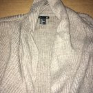 H&M Basic Casual Throw Sweater Beige Cream Women's Size Large
