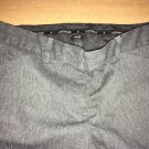 Express Editor Casual Pants / Women's Work Slacks Charcoal Black Size 8s