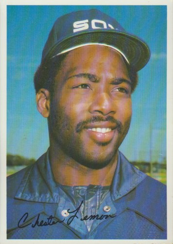 Chet Lemon Chicago White Sox Outfield 1981 Tops Chewing Gum, INC
