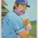 Tim Blackwell Chicago Cubs Catcher 1981 Tops Chewing Gum, INC
