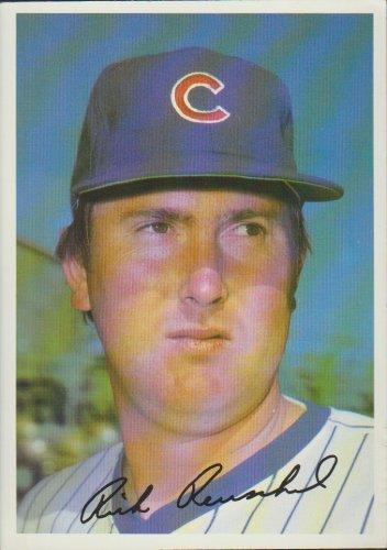 Rick Reuschel Chicago Cubs Pitcher 1981 Tops Chewing Gum, INC