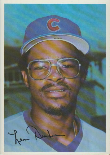 Leon Durham Chicago Cubs Outfield 1981 Tops Chewing Gum, INC