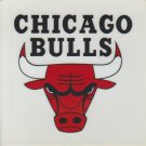 Chicago Bulls Decal Sticker 4 Inch x 4 Inch
