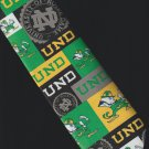 Ralph Marlin Men's Polyester Tie University of Notre Dame (UND) 2003 Fighting Irish Logo