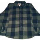 Old Mill Black and Green Plaid Flannel Size XXL