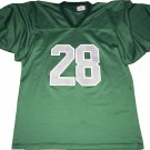 Plain Green Football Training / Warm Up Jersey Gray 28 XL