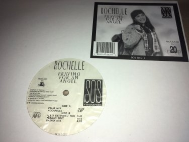"Rochelle - Praying For An Angel 12"" Vinyl Freestyle Single 1994 SOS Records"