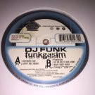 "DJ Funk - Funkgasim Chicago Ghetto House Juke Footwork 12"" Vinyl EP 1998 IHR"