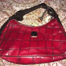 Red Crocodile/Alligator Dooney & Bourke Hobo Handbag