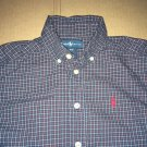 Ralph Lauren Casual Long Sleeve Brown Plaid Button Up / Down Kids Size Small