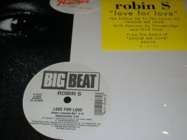 Robin S �� Love For Love