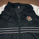 Cincinnati Bengals Reebok Windbreaker Zip Up Men's Size XL