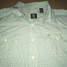 Timberland Casual Green Plaid Long Sleeve Men's Size XXL Lumberjack Status