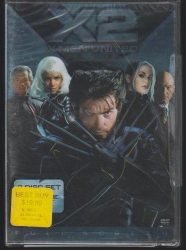 X2 X-Men United DVD