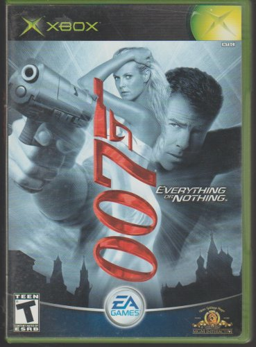 James Bond 007 Everything Or Nothing / 007 Nightfire Microsoft X-Box