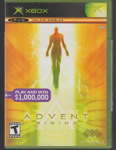 Advent Rising Microsoft X-Box