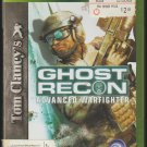 Ghost Recon Advanced Warfighter Microsoft X-Box 360