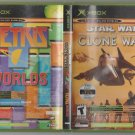Star Wars The Clone Wars / Tetris Microsoft X-Box