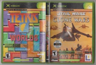 Star Wars The Clone Wars / Tetris Microsoft X-Box