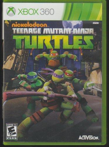 Nickelodeon Teenage Mutant Ninja Turtles Microsoft X-Box 360