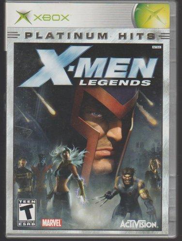 X Men Legends / X Men Legends 2 Microsoft X-Box
