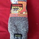 1 Pair Large Polar Extreme Insulated Thermal Socks Mens Made USA 10-13
