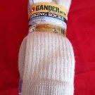 3 Pair Gander Mountain 36% Merino Wool Hiker Sock 5-9 Medium Arch Support USA