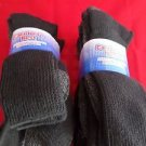 6 Pair Large Carolina Heavy Weight Sole Boot Sock Neuropathy Diabetic 10-13 USA