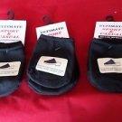 9 Pair Womens Toe Topper Half Sock Black Slings Mules Sandals 4-10 USA